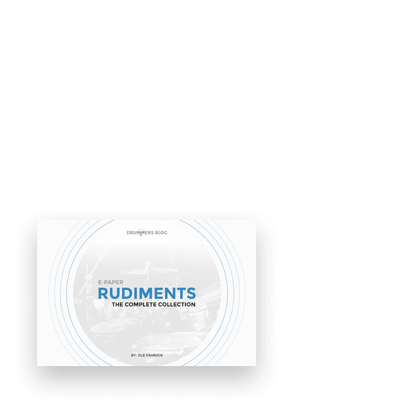 Rudiments Title, Home, Startseite, Drummersblog