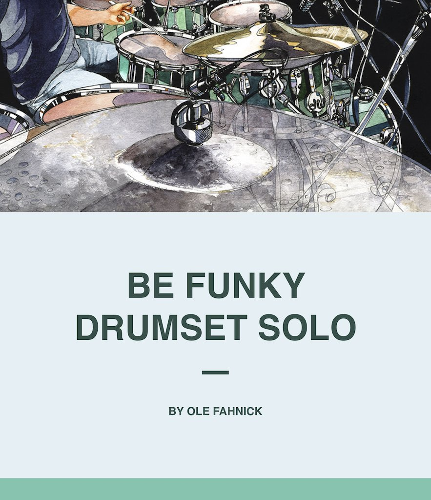 Titel_Solo for Drums – Be Funky